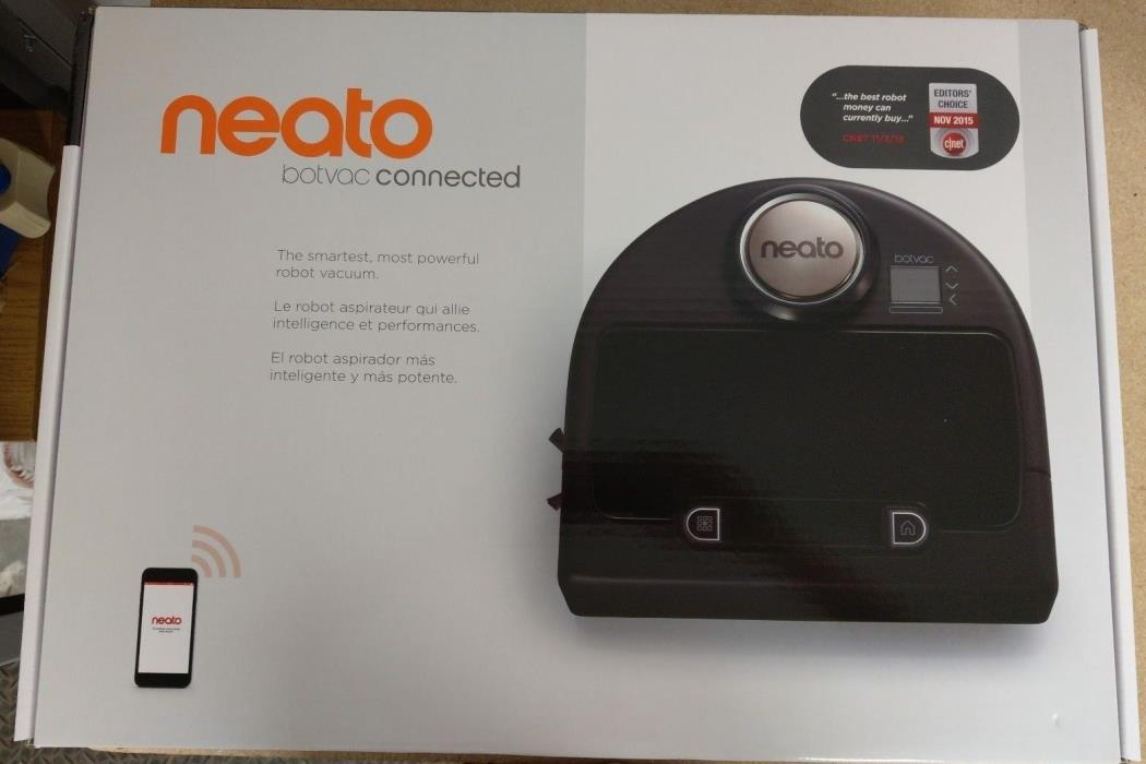 BRAND NEW Neato Botvac Connected Wi-Fi Enabled Robotic Vacuum 945-0177 SEALED