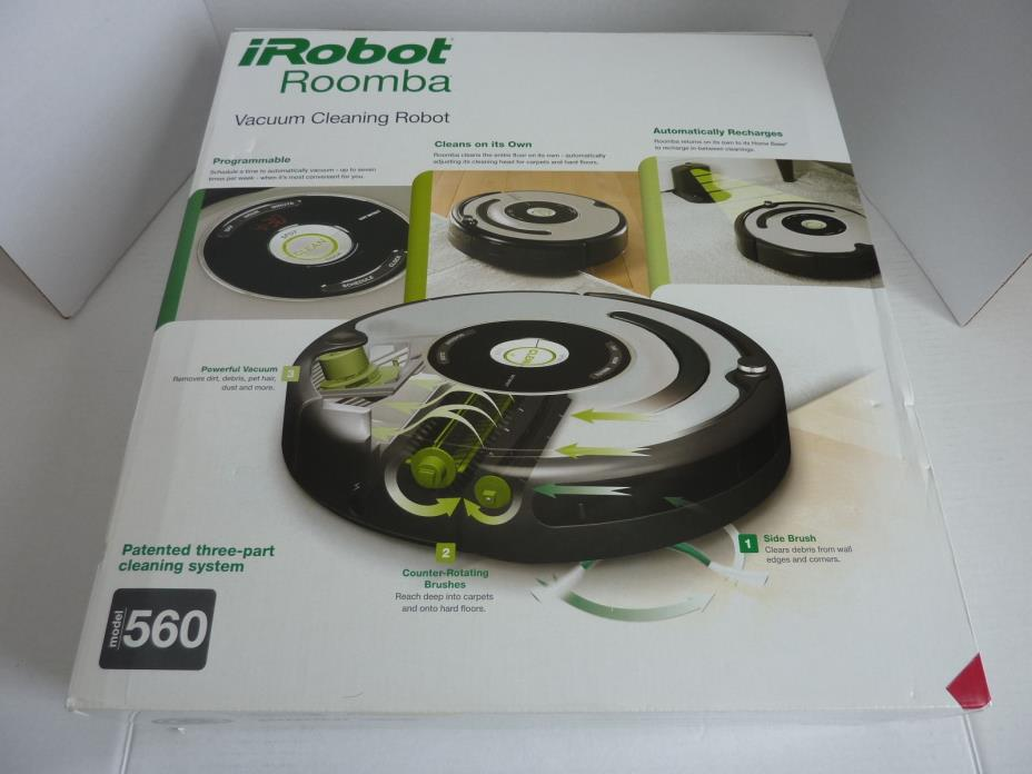NEW in Box iRobot Roomba 560 Robot Vacuum Cleaner SEALED
