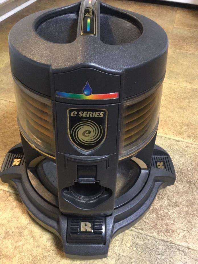 Rainbow E2 E Series Canister Vacuum Cleaner w/Water Basin, Dolly & 2 Hoses!