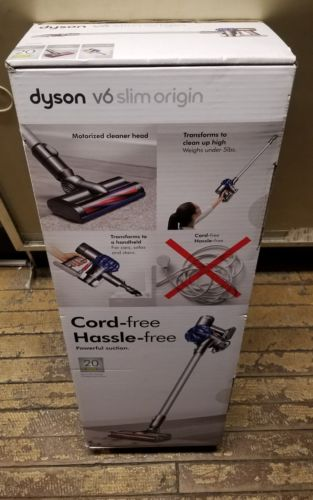 NEW Dyson V6 Slim Origin Cordless Handheld Bagless Vacuum Cord-Free