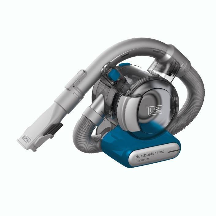 Black + Decker HFVB315J22 Dustbuster Cordless Lithium Flex Hand Vacuum w/ Tools