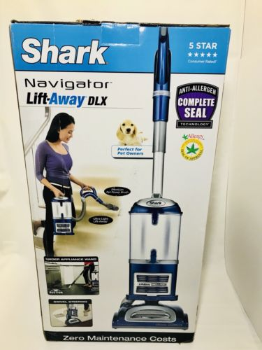Shark Navigator Lift Away Deluxe Bagless Upright Vacuum Cleaner NV360 Light Use