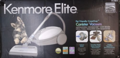 Kenmore Elite 2021814 Pet Friendly CrossOver Canister Vacuum S24CE new in box