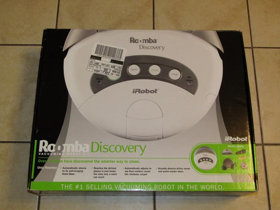 iRobot Roomba 4210 Discovery Robotic Floor Vac Cleaner Vacuum BRAND NEW SEALED