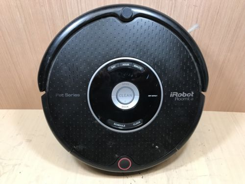 iRobot Roomba Model 595 Pet Series Robotic Vacuum Cleaner (Unit Only)-Untested