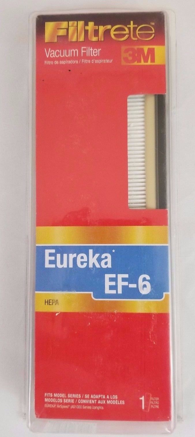 Filtrete 67826 - Eureka EF-6 HEPA Vacuum Filter New and Sealed Free Shipping