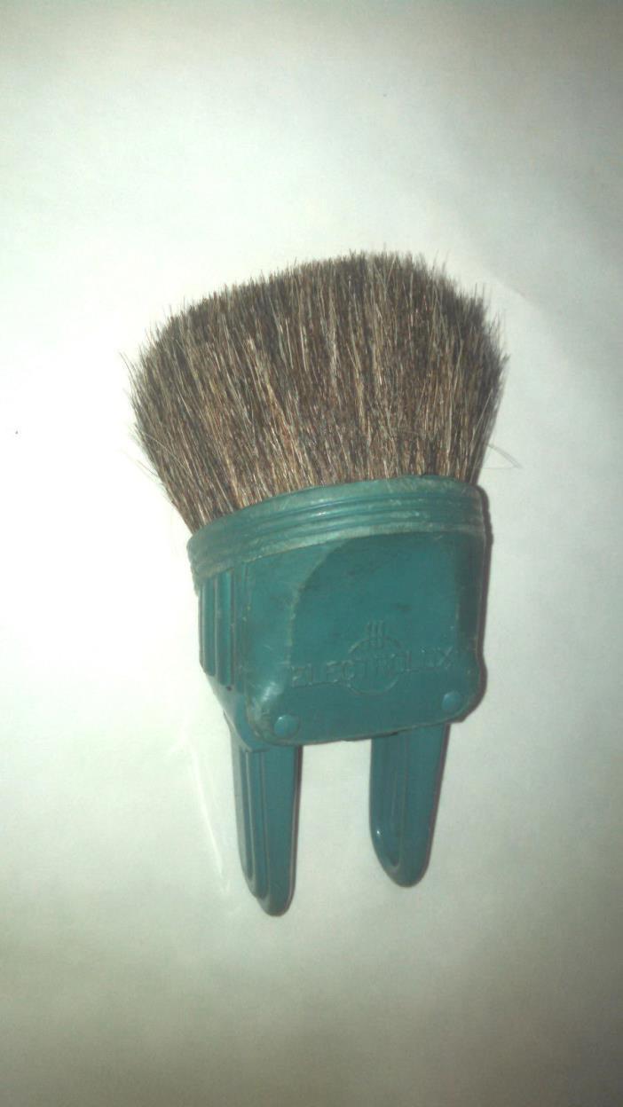 Vintage Electrolux Canister Vacuum cleaner dust brush, blue OEM
