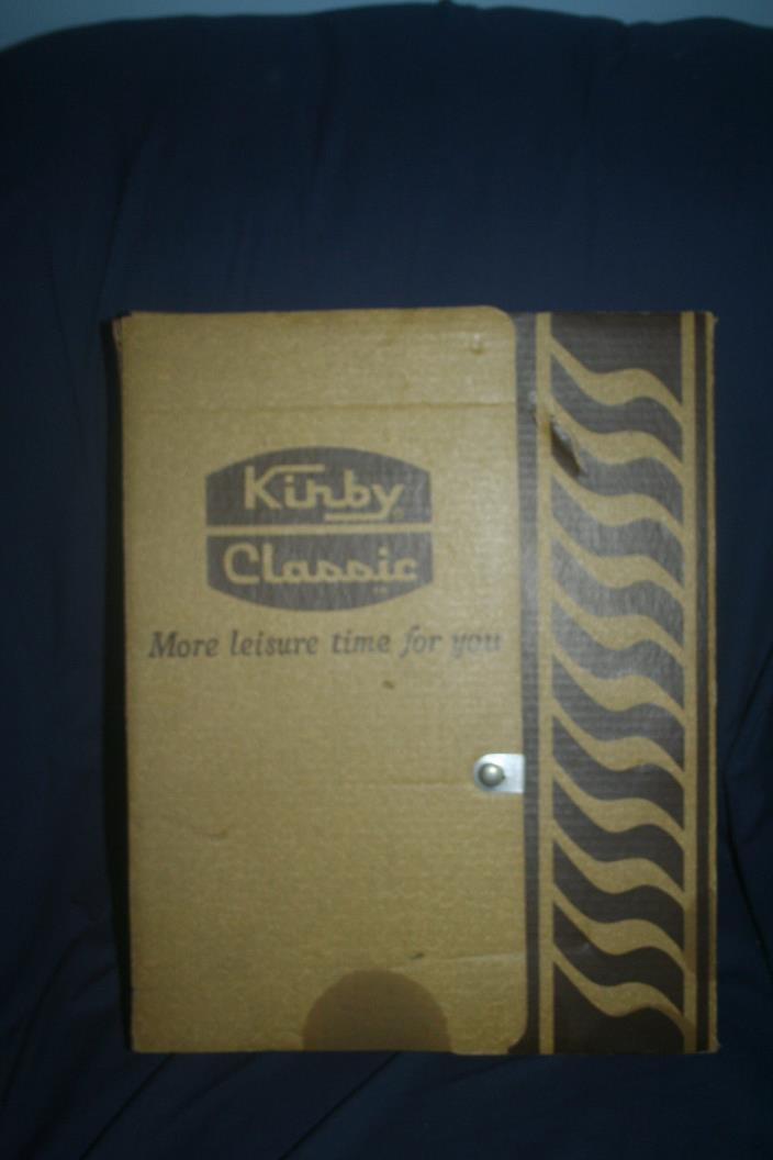 Vintage Kirby Classic Accessories With Box