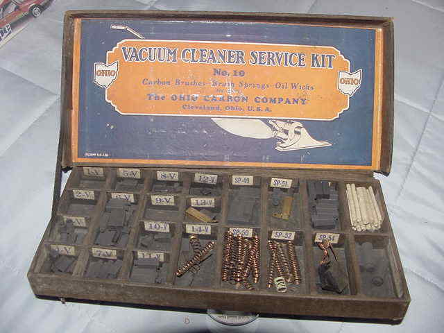 Ohio Carbon Company Vacuum Cleaner Service Kit No. 10