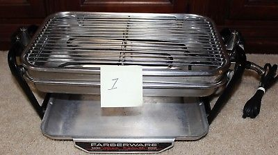 Farberware 455N Rotisserie Grill Open Hearth Broiler Smokeless Indoor