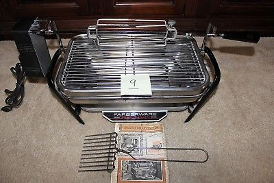 Farberware 450A Rotisserie Grill Open Hearth Broiler Smokeless Indoor grill