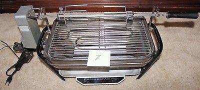 Farberware 450A Rotisserie Grill Open Hearth Broiler Smokeless Indoor great gril