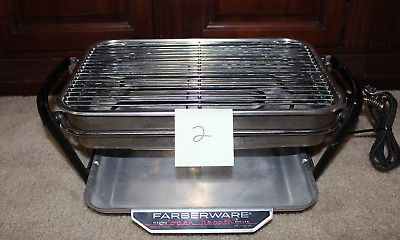 Farberware 450A Rotisserie Grill Open Hearth Broiler Smokeless Indoor GOOD SHAPE