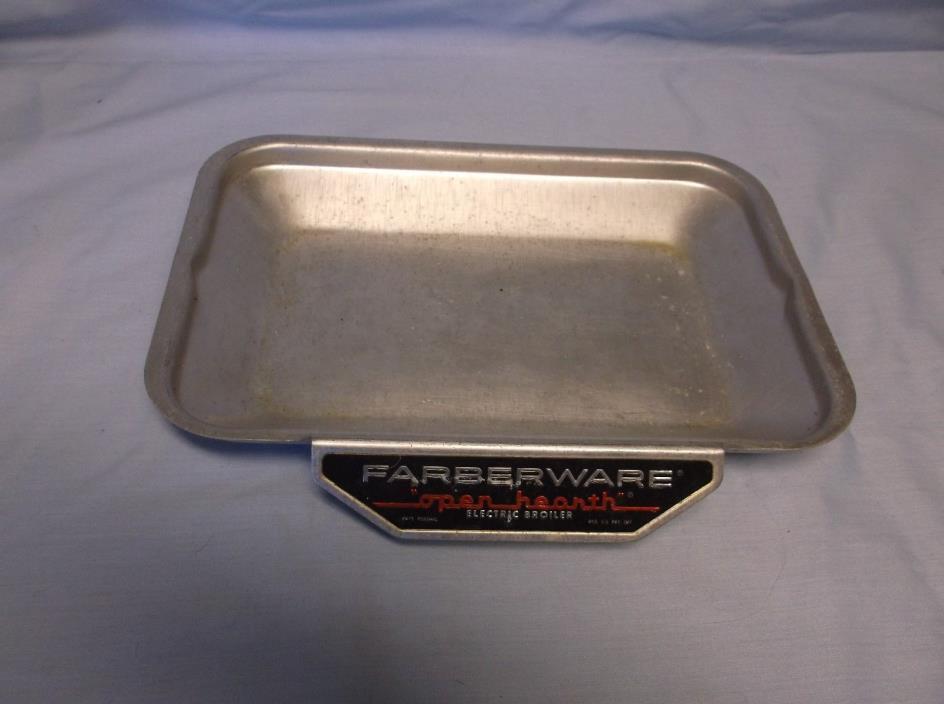 FABERWARE OPEN HEARTH ROTISSERIE MODEL 454 454A DRIP PAN