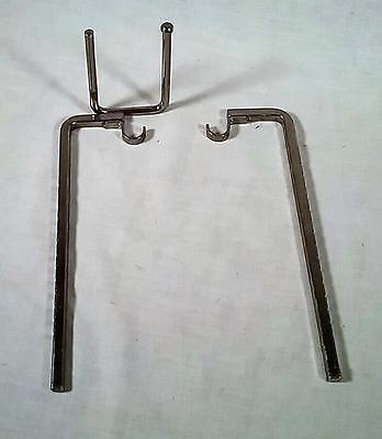 VINTAGE FARBERWARE ROTISSERIE BROILER SPIT AND MOTOR SUPPORTS