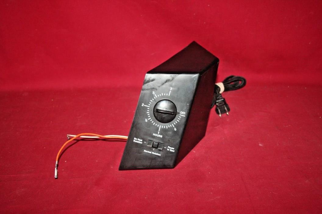 Romco Showtime Rotisserie 2500/4000/5000 Black Timer Motor Bell Replacement Part