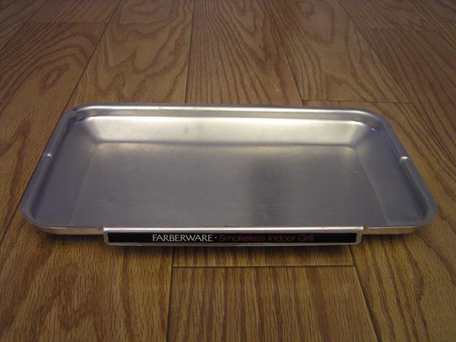 GREASE DRIP TRAY  for Farberware 4550 Open Hearth Rotisserie Grill