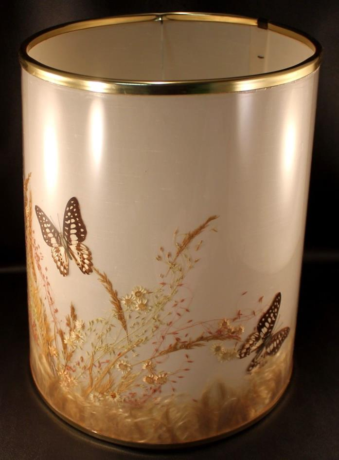 Vintage Van Briggle Butterfly Lamp Shade Great Condition