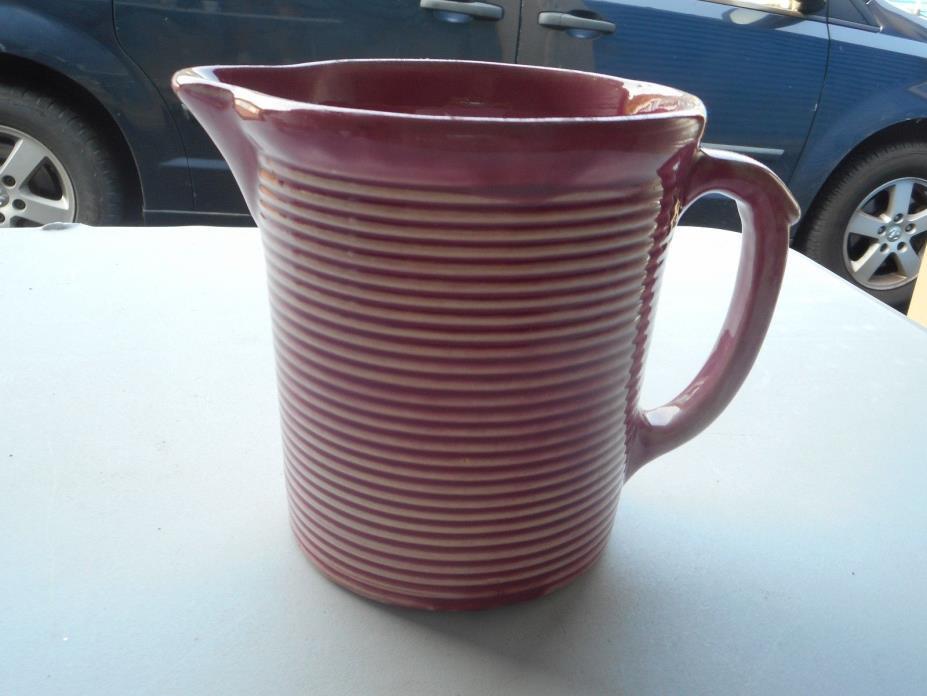 Vintage Weller Pottery Picher Pink