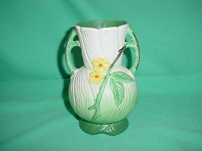 Weller Green Flower Vase