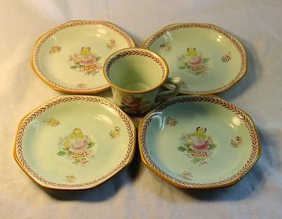 Vintage Adams England Tea Cup Saucers Plates Mint Micratex Demitasse Calyx Ware