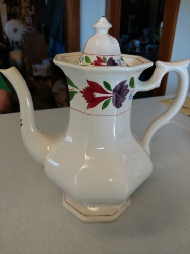 Adams OLD COLONIAL Ironstone - England  Coffee Pot