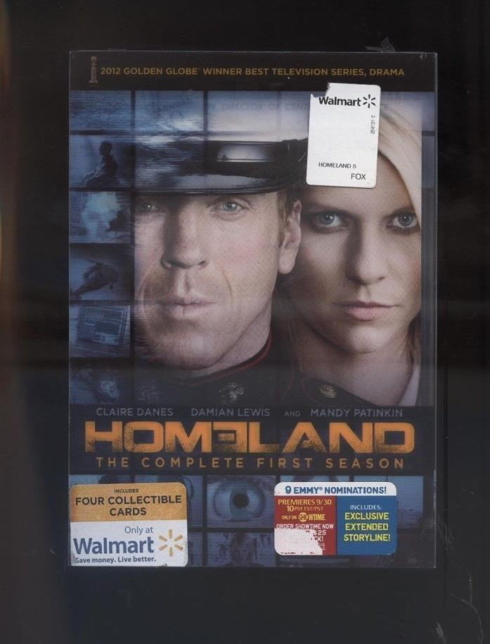 Homeland DVD Complete First Season 4 Discs Documents