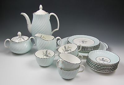 Adderly Adelphi Demitasse Tea/Coffee Set w/ Cake Plate for 5 EXCELLENT