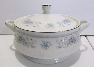 American Limoges Salem Heritage Collection Bridal Bouquet Round Covered Casserol