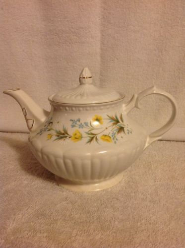 Crown Dorset Staffordshire Teapot