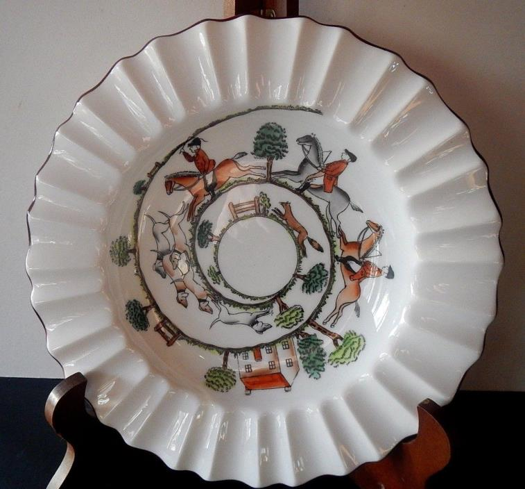 Crown Staffordshire Tally Ho soup bowl; could be for candy or hors d'oeuvres