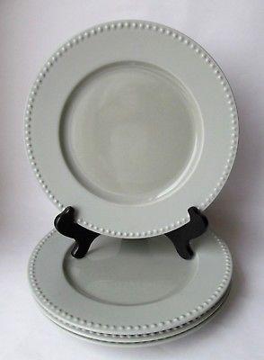 Set of 4 DANSK RONDURE SAGE Dinner Plate Excellent Light Green
