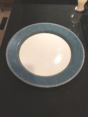 Dansk Gridworks Blue Chop Plate /Round 13