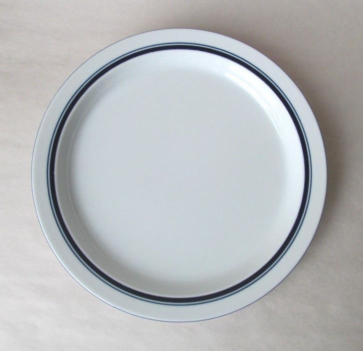 1 Dansk Bistro CHRISTIANSHAVN BLUE DINNER PLATE PORTUGAL