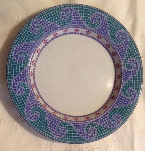 Set Of 4 Dansk Mosaic Wave 9