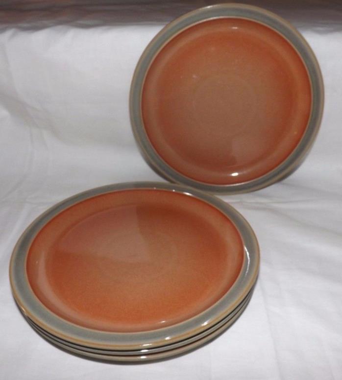 (Set of 4) DENBY Pottery 8 5/8