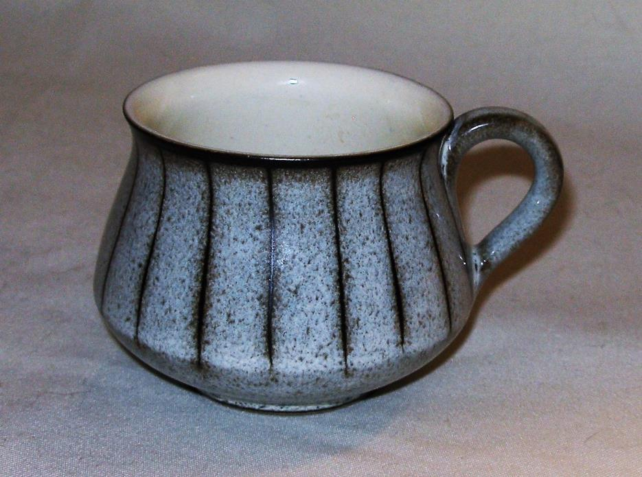 Bourne Denby ~ Studio Striped ~ COFFEE CUP  ~ England ~ NEW/ OLD STOCK ~ MINT