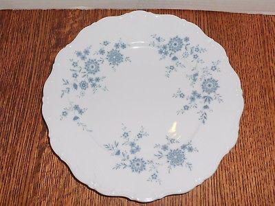Seltmann Weiden Christina Porcelain Bavarian Blue Dinner Plate W.Germany ex.