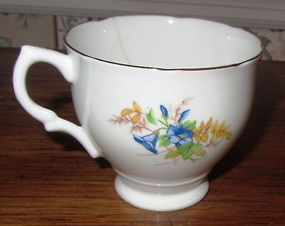 VINTAGE ROYAL YORK ENGLAND BONE CHINA CUP; Numbered 2838.