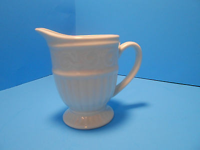 Gibson Everyday White Scroll Claremont  Creamer - EC