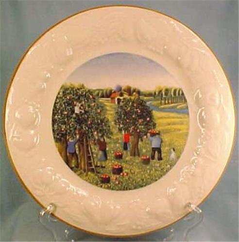 Summer Four Seasons Dinner Plate Tabletops Unlimited Vintage