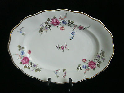 JAROLINA CHINA -  MADE IN POLAND -  PORCELAIN - SHERATON ROSE - CHARGER PLATE