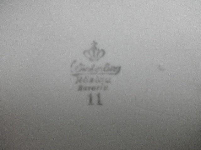 Vintage Winterling Bavaria serving plater rectangular 12 1/2