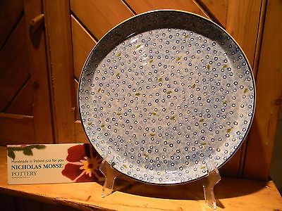 NICHOLAS MOSSE POTTERY - LARGE PRESENTATION PLATTER IN THE NEW