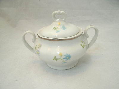 Baum Bros Favolina ANDANTE Sugar Bowl with Lid Floral Poland HTF Pattern EUC