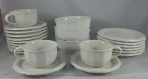 Pfaltzgraff Heritage White Cup Saucer * Bread/Desert/Salad Plate * Cereal Bowl
