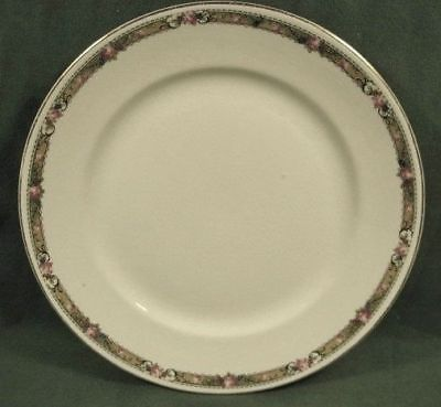 VINTAGE DRESDEN CHINA PLATE ROSES-