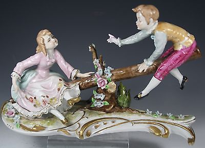 LARGE Porcelain Figurine
