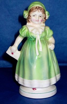 KATZHUTTE German Antique Porcelain GIRL with a Letter Figurine