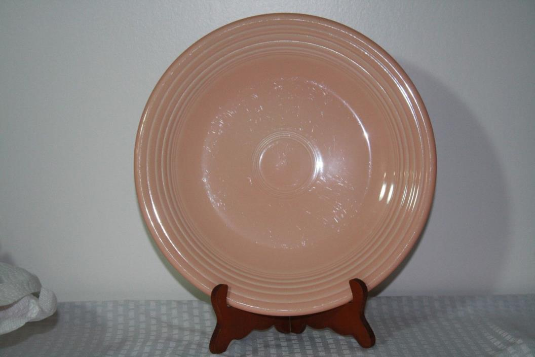 Fiestaware Apricot Service Platter